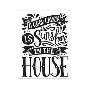 Darice Embossing Folder 5/$25 Good Laugh
